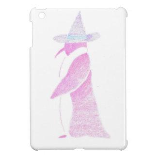 Pinguin im Hut einer Hexe iPad Mini Hülle