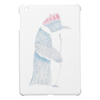Pinguin in einem Barett iPad Mini Hülle