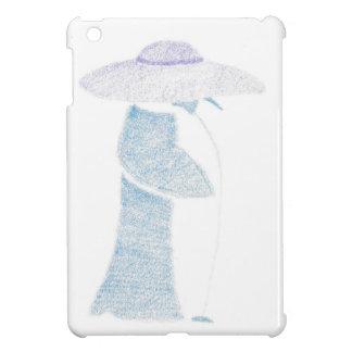 Pinguin in einem schlaffen Hut iPad Mini Hülle