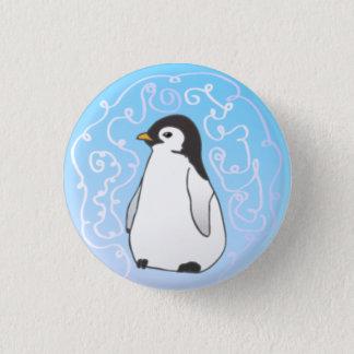 Pinguin-Knopf Runder Button 3,2 Cm