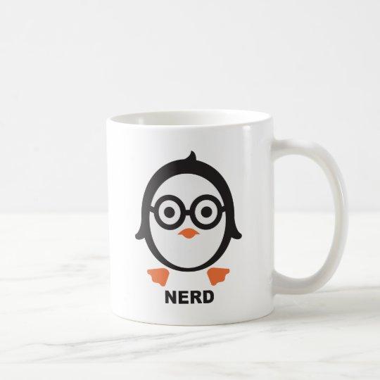 Pinguin - nerd - penguin kaffeetasse