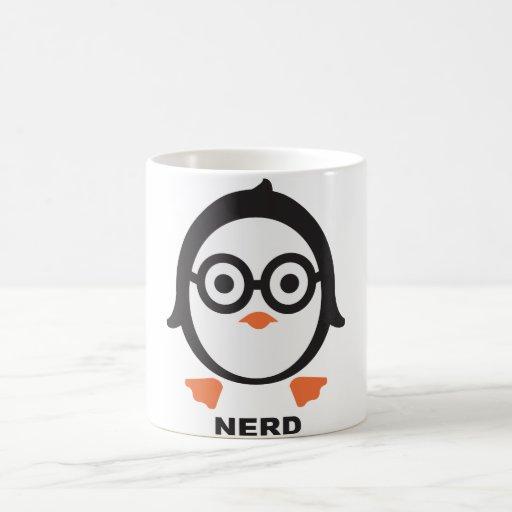 Pinguin - nerd - penguin kaffee tasse