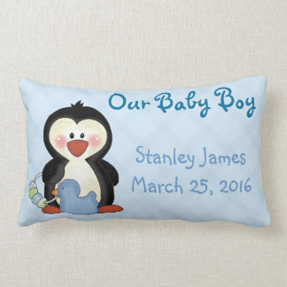 Pinguin-neues Baby-Kissen