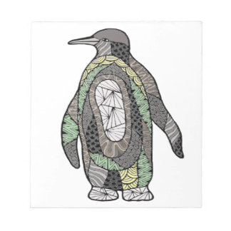 Pinguin Notizblock