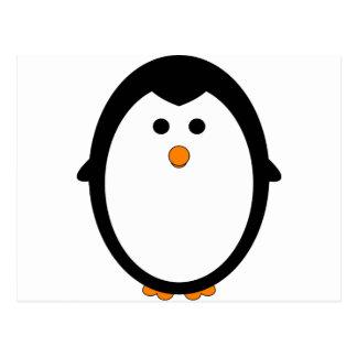 Pinguin Postkarte