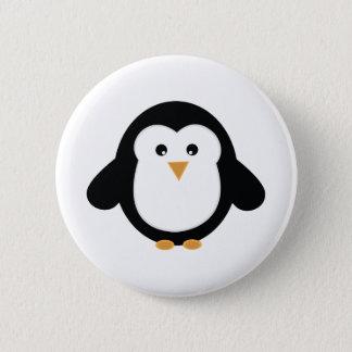 Pinguin Runder Button 5,1 Cm