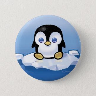 Pinguin Runder Button 5,7 Cm
