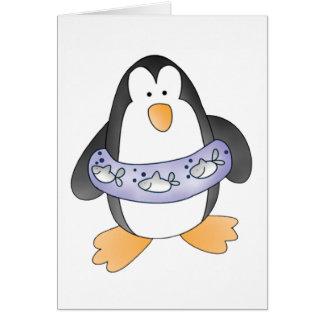 Pinguin-Schwimmen Karte