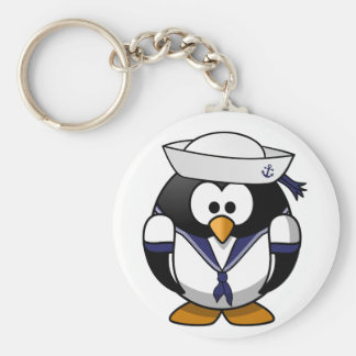 Pinguin-Seemann Keychain Schlüsselanhänger