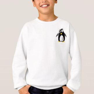 Pinguin-Smoking-Linuxbild Sweatshirt