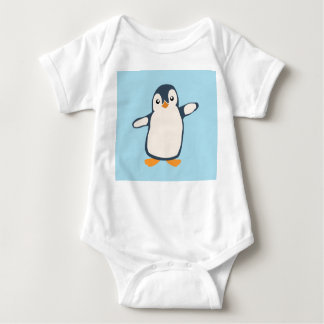 Pinguin-Umarmungs-Baby Baby Strampler