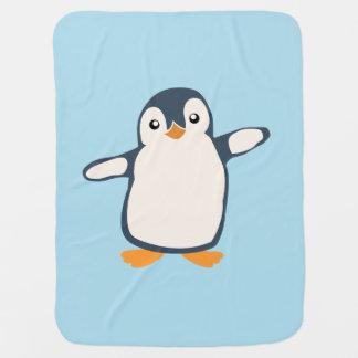 Pinguin-Umarmungs-Baby-Illustration Kinderwagendecke