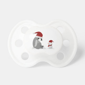 Pinguin und Schneemann Schnuller