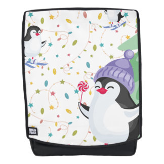 Pinguin-Unsinnigkeit Rucksack