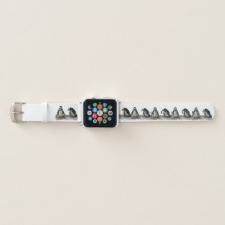 Pinguin-Vogel-Muster-Apple-Uhrenarmband Apple Watch Armband