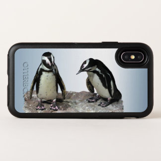 Pinguin-Vögel OtterBox iPhone X Fall OtterBox Symmetry iPhone X Hülle