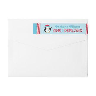 Pinguin Winter ONEderland Geburtstags-|