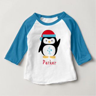 Pinguin Winter ONEderland Geburtstags-| Baby T-shirt