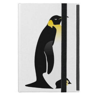 Pinguinelternteil mit seinem Baby Schutzhülle Fürs iPad Mini
