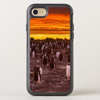 Pinguinkolonie am Sonnenuntergang, Falkland OtterBox Symmetry iPhone 8/7 Hülle