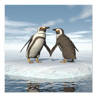 Pinguinpaare Karte