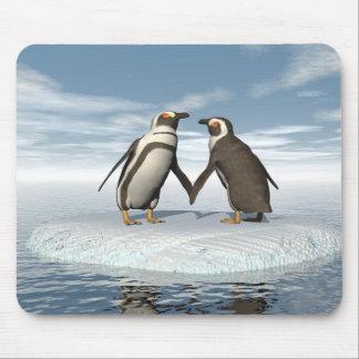 Pinguinpaare Mousepad
