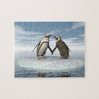 Pinguinpaare Puzzle
