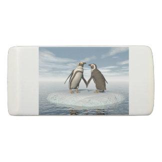 Pinguinpaare Radiergummi