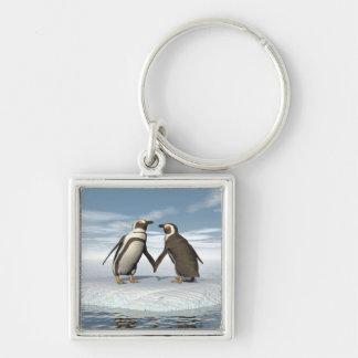 Pinguinpaare Schlüsselanhänger