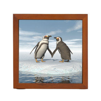 Pinguinpaare Stifthalter