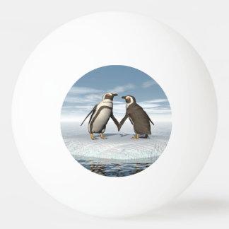 Pinguinpaare Tischtennis Ball