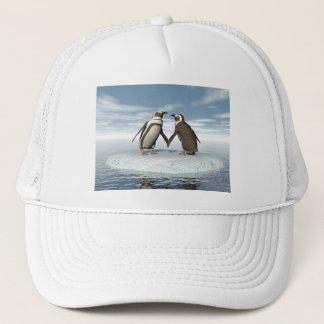 Pinguinpaare Truckerkappe