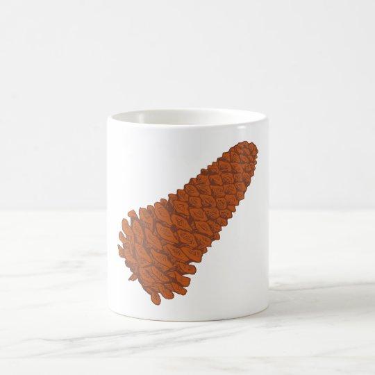 Pinienzapfen pine cone kaffeetasse