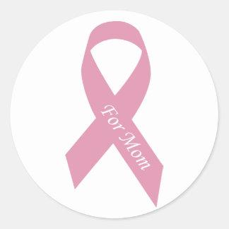 pink_11 runder aufkleber