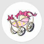 Pink Buggy Stickers