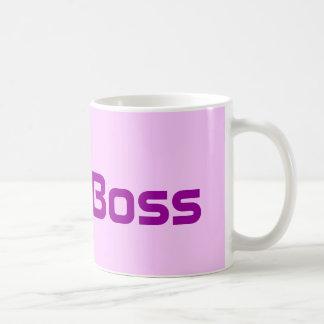 Pink Coffee Mug der Chef-Dame Kaffeetasse