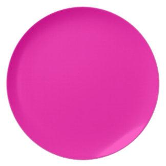 Pink färbt kundenspezifisch anfertigt nur party teller
