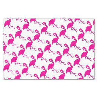 Pink-Flamingo Seidenpapier
