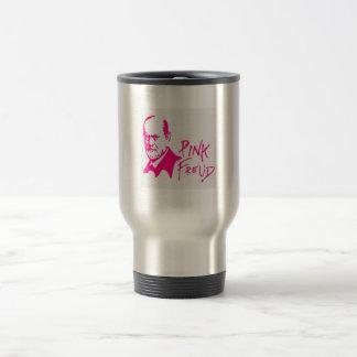 pink freud mug cofee edelstahl thermotasse