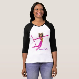 Pink Fushia Wonder Woman, Fairy Wand - T-Shirt