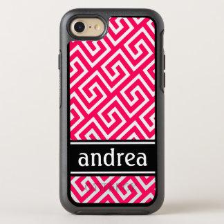 Pink-Grieche-Schlüssel OtterBox Symmetry iPhone 8/7 Hülle
