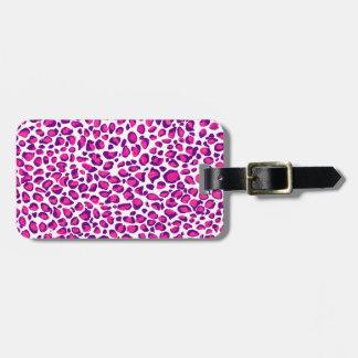 Pink Jaguar Kofferanhänger