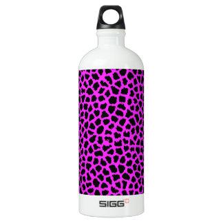 Pink-Leopard-Druck Wasserflasche
