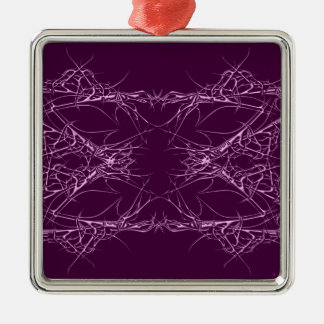 pink metall silbernes ornament