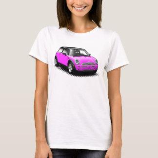 Pink-moderne Miniauto-Damen-Spitze T-Shirt