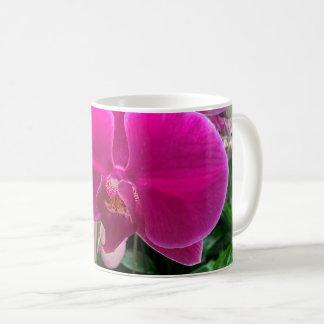 Pink-Orchideen-Fotografie Kaffeetasse