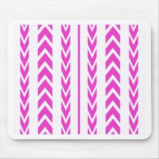Pink-Reifen-Schritt Mousepad