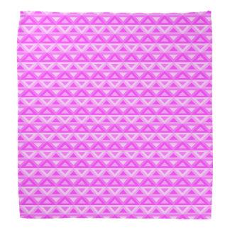 Pink Rhombus™ Bandanna Kopftücher