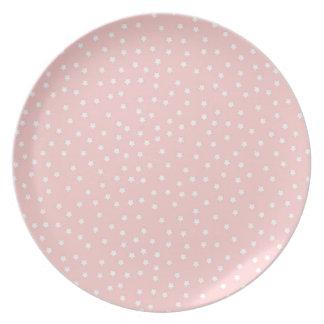 pink star flache teller
