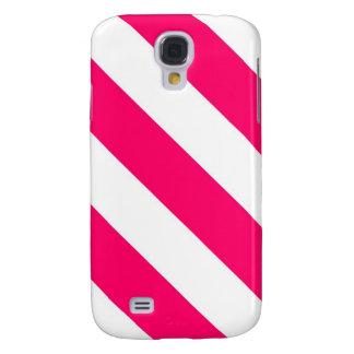 Pink-Streifen Galaxy S4 Hülle